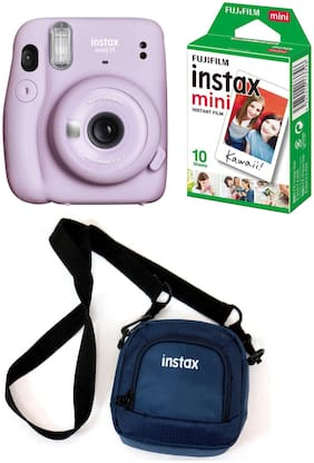 Fujifilm Instax Mini 11 0.1 MP Instant Camera ( Purple )