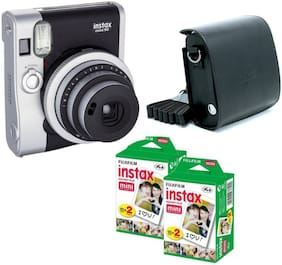 Fujifilm Fujifilm Mini 90 0.1 MP Instant Camera ( Black )