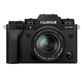 Fujifilm X-T4 Kit (18-55mm Lens) Mirrorless Digital Camera (Black)