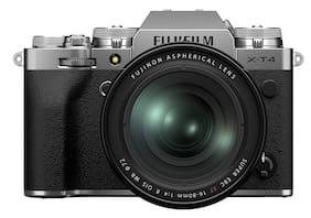 Fujifilm X-T4 Kit (16-80mm Lens) Mirrorless Digital Camera (Silver)
