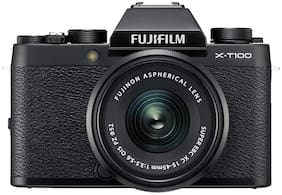 Fujifilm X-T100 (with XC 15-45 mm Lens) 24.2 MP Mirror Less Camera (Black)
