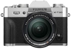 Fujifilm X-T30 Kit (XF 18-55mm F2.8-4 LM OIS Lens) Mirrorless Digital Camera (Silver)