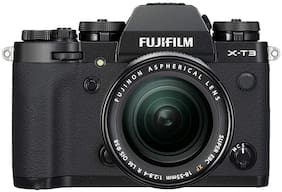Fujifilm X-T3 Kit (XF 18-55 mm F2.8-4 R LM OIS Lens) 26.1 MP Mirrorless Camera (Black)