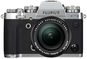 Fujifilm X-T3 Kit (18-55 mm Lens) 26.1 MP Mirrorless Digital Camera (Silver)