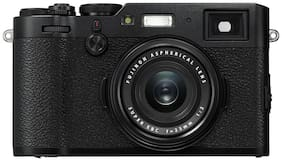Fujifilm X100F 24.3 MP Mirror Less Camera  Black