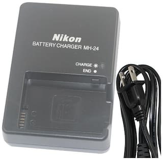 Genuine MH-24 Nikon Charger EN-EL14 & EN-EL14a Battery D3100 D3200 D3300 D5200