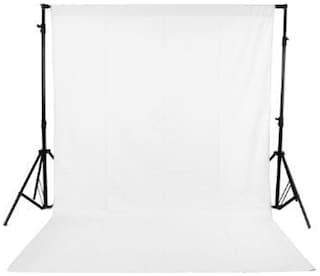 GINNI BACKDROP PHOTO LIGHT STUDIO PHOTOGRAPHY BACKGROUND (8 X 10  ft, WHITE)