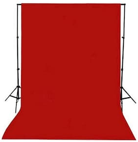 GINNI BACKDROP PHOTO LIGHT STUDIO PHOTOGRAPHY BACKGROUND (6 X 10  ft, RED)