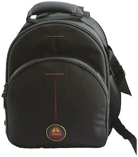 Ginni Royaljunior Camera backpack ( Black )