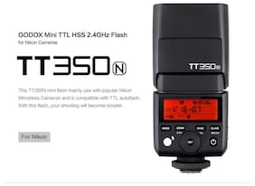 GODOX Mini Camera Flash TT350N (for NIKON Cameras only)