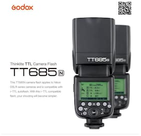 GODOX Thinklite TTL Camera Flash TT685N (for NIKON Cameras only)