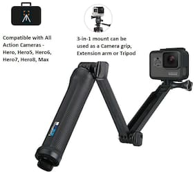 GoPro 3 Way Mount Tripod for Camera (black)