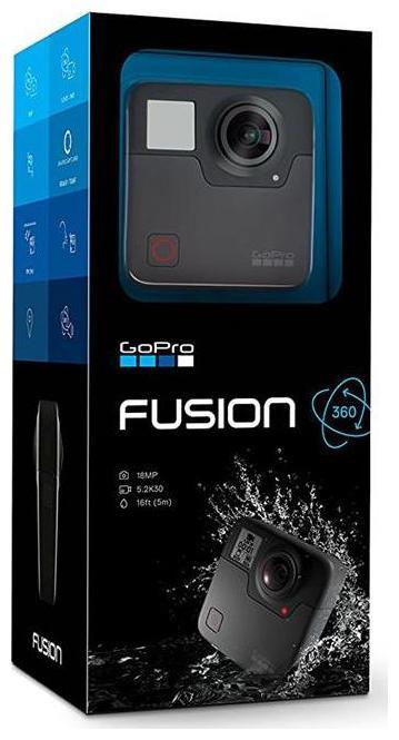 GoPro Fusion 18MP Action Camera (Black)
