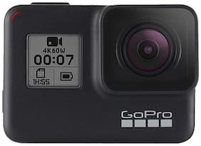 GoPro Hero 7  12 MP Sports & Action Camera with Sandisk 32GB Ultra Memory Card (Black)