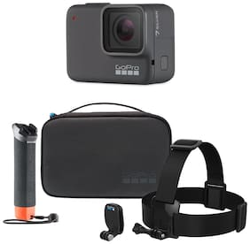 GoPro Hero7 Silver 10 MP Sports & Action Camera with Adventure Kit