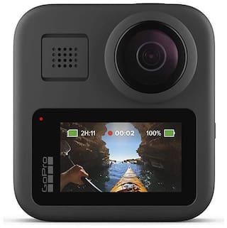 GoPro Max 16.6 MP Sports & Action Camera Black