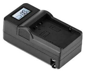 Green Extreme Compact Smart Charger with LCD Screen for Panasonic #GX-CH1-BLB13