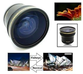 Hi Def 0.17x Super Fisheye Lens With Macro for Fujifilm XM1 XA1 X-M1 X-A1