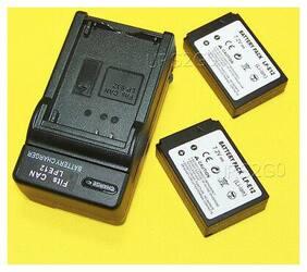 High Power 2x 875mAh LP-E12 Battery External External Charger For Canon EOS 100D