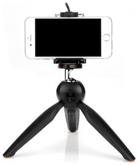 High Quality Y-225 Mini Tripod Mount + Phone Holder Clip Desktop Self-Tripod for Digital Camera & iPhone, Smartphones By(Shopkart)
