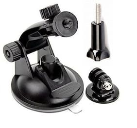 Hot! Go pro Car Suction Cup Adapter Window Glass Mount Holder Tripod Adapter Camera Accessories For Gopro Hero