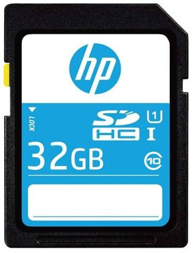 HP SD210 32 GB SDHC UHS Class 1 80 MB/s Memory Card