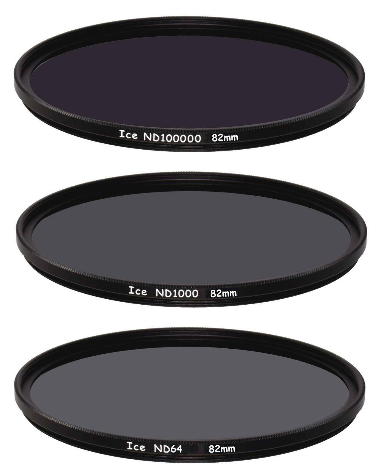 ICE Astral 3 Slim Filter Set 77mm LiPo UV-IR Cut ND100000 16.5 Stop ND Optical Glass