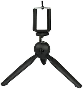 Immutable 360 deg Mini Tripod Universal Mount & Phone Holder Tripod Stand Compatible with All Mobile Phones and Digital Camera