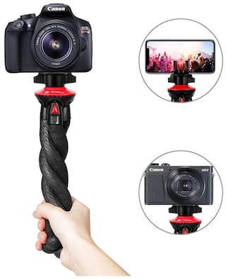 IMMUTABLE Flexible Camera Tripod With Phone Tripod Mount