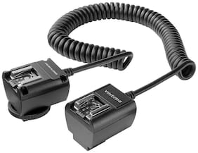 Insignia- TTL Off-Camera Sync Cord for Canon - Black