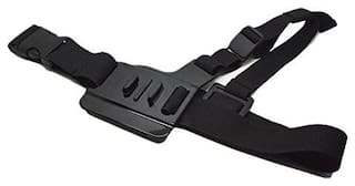 J Adjustable Light Weight 3 Points Elastic Chest Harness Belt Strap Mount for Gopro Hero 1 2 3 3+ 4 Sprots