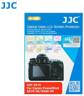 JJC 2.5D Tempered Optical Glass LCD Protector for Canon PowerShot SX70 HS SX60