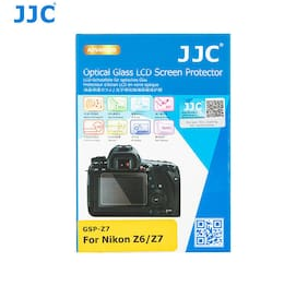 JJC GSP-Z7 2.5D Tempered Optical Glass LCD Protector for Nikon Z6 Z7