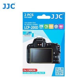 JJC LCP-200D Screen Guard Protector PET Film for CANON EOS 200D Rebel SL2 Camera