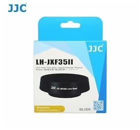 JJC LH-JXF35II Metal Lens Hood Fujifilm XF 35mm f/2 R WR Silver