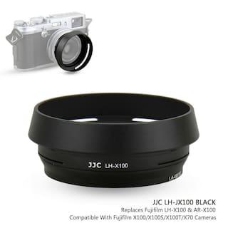 JJC Metal Lens Hood + Adapter Ring for Fujifilm Fuji X100F X100S X100T X100V X70