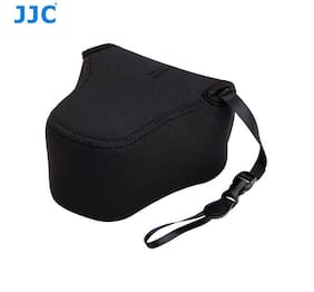JJC Mirrorless Camera Pouch Case for Canon EOS M5 M6 +18-55/ 15-45mm mm lens