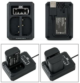 USB Dual Battery Charger fits Panasonic DMW-BLF19 for Panasonic GH5S GH5 GH4 GH3