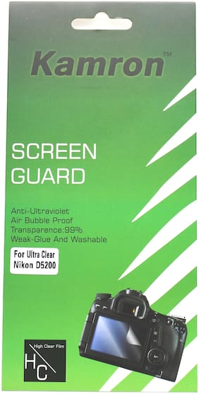 Kamron Scratchgard Anti-Ultraviolet Screen Protector for Nikon D5200
