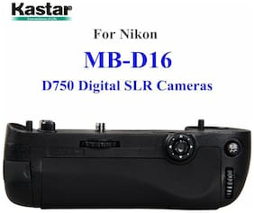 Kastar Battery Grip Combo for Nikon D750 Digital SLR Cameras MB-D16