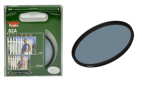 Kenko 82A cooling 58mm Filter increase the color temperature Made In Japan