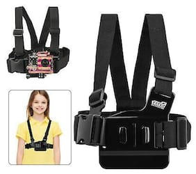 Kids Child Junior Chesty Chest Mount Harness For Gopro HERO 5/4/3+/3/2 Black