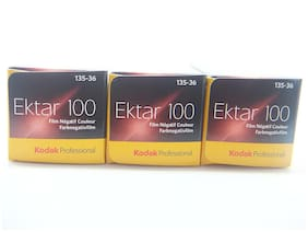 Kodak Ektar 100 35mm 36exp Film 3 Pack