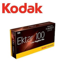 KODAK Professional Ektar 100 ISO Color Negative 120 Medium Format Film - US