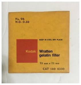Kodak Wratten Gelatin Filter 75mm X 75mm No 96 N.D. 0.30 149 6330 NOS