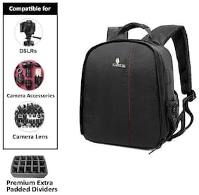 Kratos DSLR/SLR Backpack Camera Bag with Rain Cover