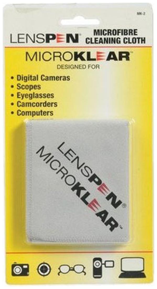 Lenspen MK 2 G Microklear Cloth Lens Cleaner  White