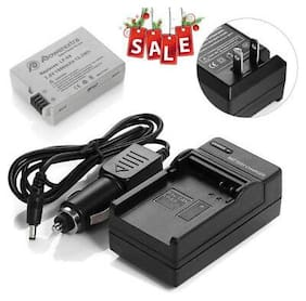 LP-E8 Battery + Charger For Canon Rebel T2i T3i T4i T5i Kiss X5 EOS 550D 650D US