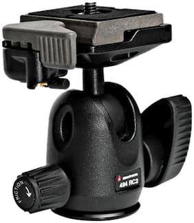 Manfrotto 494RC2 Mini Ball Tripod Head with RC2 (Black)