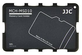 Memory Card Holders fits 4 SD Cards JJC MCH-SD4GR Plus A&R cleaning case card
